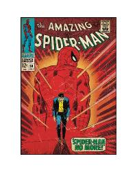 Comic Book Cover - Spiderman Walking Away Peel  Stick Comic Book Cover RMK1659SLG by