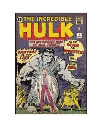 Comic Book Cover - Hulk #1 Peel  Stick Comic Book Cover RMK1660SLG by