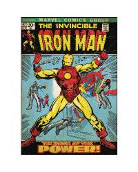 Comic Book Cover - Iron Man Peel  Stick Comic Book Cover RMK1662SLG by
