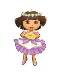 Dora s Enchanted Forest Adventures Peel  Stick Giant Wall Decal by