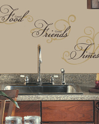 Good Food Peel  Stick Wall Decals RMK1692SCS by