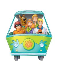 Scooby Doo Mystery Machine Peel  Stick Giant Wall Decal RMK1697GM by