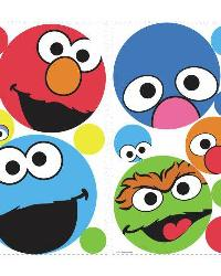 Sesame Street Dots Peel  Stick Wall Decals by