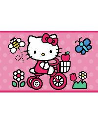 Hello Kitty - The World of Hello Kitty Peel  Stick Border RMK1737BCS by
