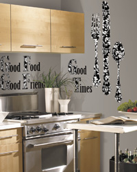 Good Time Peel  Stick Giant Wall Decals RMK1742SLG by