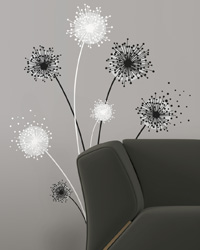 Dandelion Peel  Stick Giant Wall Decal RMK1775GM by