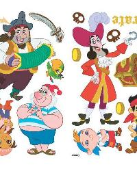 Jake and the Neverland Pirates Peel  Stick Wall Decals by