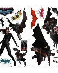 Batman - Dark Knight Rises Peel  Stick Wall Decals by