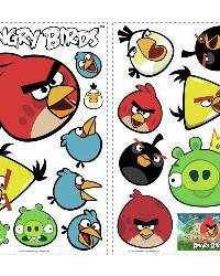 Angry Birds Peel  Stick Wall Decals by
