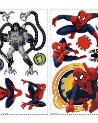 Spiderman - Ultimate Spiderman Peel  Stick Wall Decals by