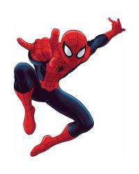 Spiderman - Ultimate Spiderman Peel  Stick Giant Wall Decal RMK1796GM by