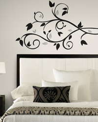 Foil Tree Branch Peel  Stick Wall Decal RMK1799SCS by