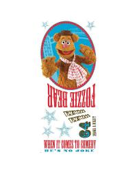 Muppets - Fozzie Peel  Stick Giant Wall Decal by