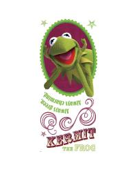Muppets - Kermit Peel  Stick Giant Wall Decal by