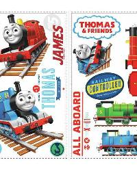 Thomas the Tank Engine Peel  Stick Wall Decals by