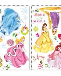 Disney Princess - Holiday Peel  Stick Wall Decals by