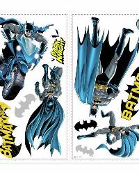 Batman Bold Justice Peel  Stick Wall Decals by
