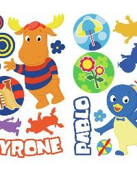 Backyardigans Peel  Stick Wall Decals by