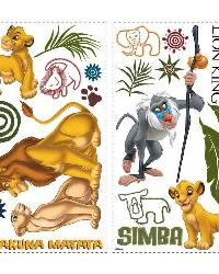 The Lion King Peel  Stick Wall Decals by