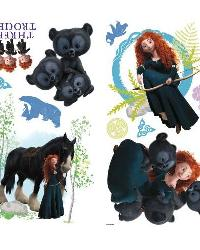 Brave Peel  Stick Wall Decals by