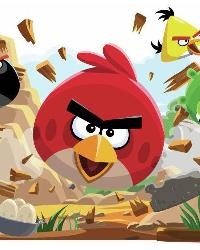 Angry Birds Peel  Stick Giant Wall Decals by