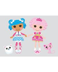Lalaloopsy Peel  Stick Giant Wall Decals by