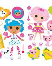 Lalaloopsy Peel  Stick Wall Decals by