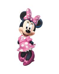 Mickey  Friends - Minnie Bow-tique Peel  Stick Giant Wall Decal by