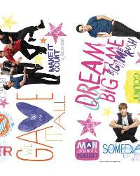Big Time Rush Peel  Stick Wall Decals by