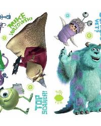 Monsters Inc Peel  Stick Wall Decals by