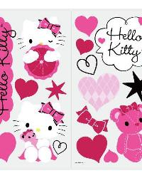 Hello Kitty - Couture Peel  Stick Wall Decals by