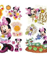 Mickey  Friends - Minnie Mouse Barnyard Cuties Peel  Stick Wall Decals by