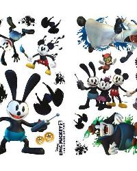 Mickey  Friends - Epic Mickey 2 Peel  Stick Wall Decals by