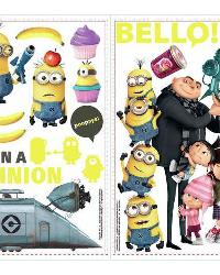 Despicable Me 2 Peel and Stick Wall Decals by
