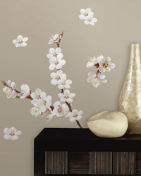 Dogwood Branch Peel  Stick Wall Decals RMK2085SCS by