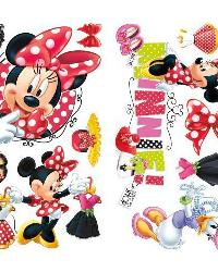 Mickey  Friends - Minnie Loves to Shop Peel  Stick Wall Decals by
