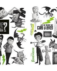 Frankenweenie Peel  Stick Wall Decals by