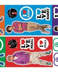 1 Direction Peel  Stick Wall Decals by