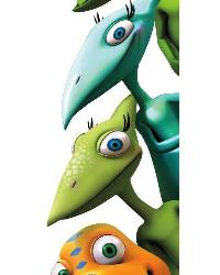 Dinosaur Train Peel  Stick Giant Wall Decals by