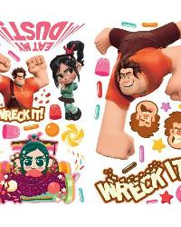 Wreck it Ralph Peel  Stick Wall Decals by