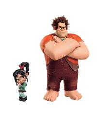Wreck it Ralph Peel  Stick Giant Wall Decals by