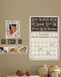 Family and Friends Peel  Stick Dry Erase Calendar RMK2148GM by