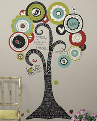 Tree of Hope Peel  Stick Giant Wall Decal RMK2153SLM by