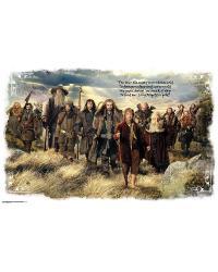 The Hobbit Mini Mural  by