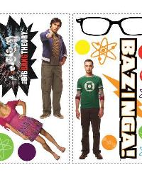 Big Bang Theory Peel  Stick Wall Decals by