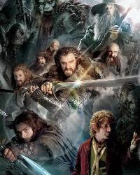 The Hobbit Cast Ensemble Wall Graphix RMK2184SLM by