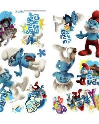 Smurfs 2 Peel and Stick Wall Decals by