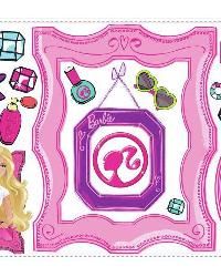 Barbie s Fabulous Frames Peel and Stick Giant Wall Decals by