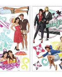 Teen Beach Movie Peel and Stick Wall Decals by