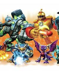 Skylander Giants Burst Peel and Stick Wall Decals by